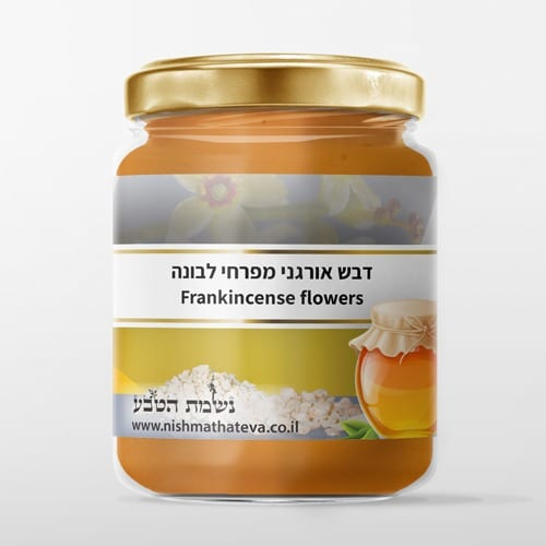 דבש אורגני מפרחי לבונה